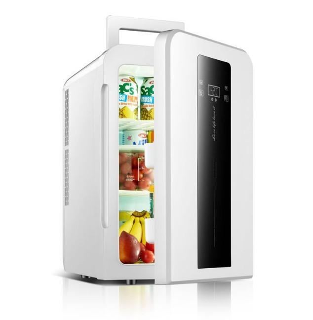 Tủ lạnh mini 22L EuroQuality ô tô và nhà -3 độ 12v 220v Màn hình Led - 4
