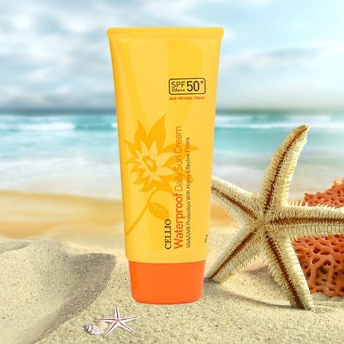 [CHÍNH HÃNG] Kem chống nắng Cellio Waterproof Daily Sun Cream SPF50 PA+++ - 4627242 , 17062177 , 15_17062177 , 300000 , CHINH-HANG-Kem-chong-nang-Cellio-Waterproof-Daily-Sun-Cream-SPF50-PA-15_17062177 , sendo.vn , [CHÍNH HÃNG] Kem chống nắng Cellio Waterproof Daily Sun Cream SPF50 PA+++