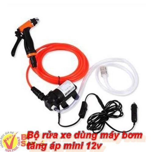 Bộ rửa xe dùng máy bơm tăng áp mini 12v - 7208423 , 17064535 , 15_17064535 , 448000 , Bo-rua-xe-dung-may-bom-tang-ap-mini-12v-15_17064535 , sendo.vn , Bộ rửa xe dùng máy bơm tăng áp mini 12v