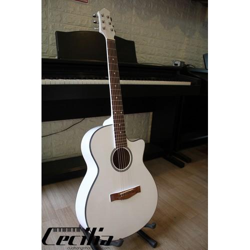 Đàn Guitar Acoustic trắng T10 - tặng bao đựng, pick - 4791556 , 17066047 , 15_17066047 , 1050000 , Dan-Guitar-Acoustic-trang-T10-tang-bao-dung-pick-15_17066047 , sendo.vn , Đàn Guitar Acoustic trắng T10 - tặng bao đựng, pick