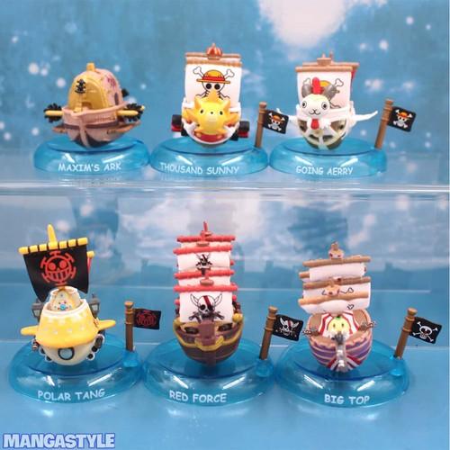 Bộ Mô Hình Tàu One Piece