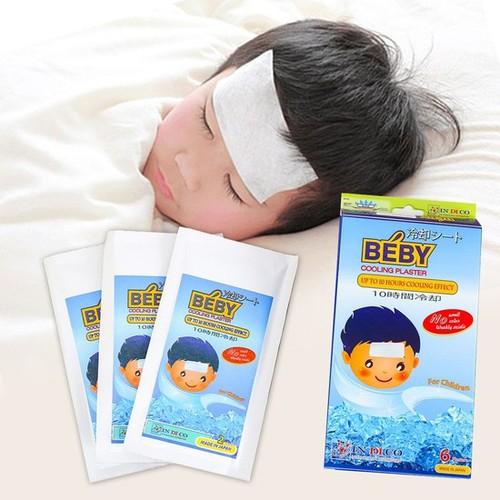 Miếng dán hạ sốt cho bé Béby 1 hộp 6 miếng - 4628055 , 17067926 , 15_17067926 , 78000 , Mieng-dan-ha-sot-cho-be-Beby-1-hop-6-mieng-15_17067926 , sendo.vn , Miếng dán hạ sốt cho bé Béby 1 hộp 6 miếng