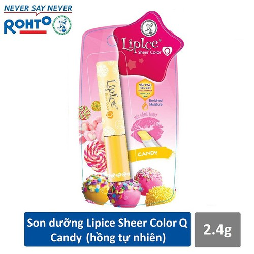Son dưỡng Lipice Sheer Color Q Candy 2.4g - Hồng tự nhiên - 7212493 , 17067088 , 15_17067088 , 65000 , Son-duong-Lipice-Sheer-Color-Q-Candy-2.4g-Hong-tu-nhien-15_17067088 , sendo.vn , Son dưỡng Lipice Sheer Color Q Candy 2.4g - Hồng tự nhiên