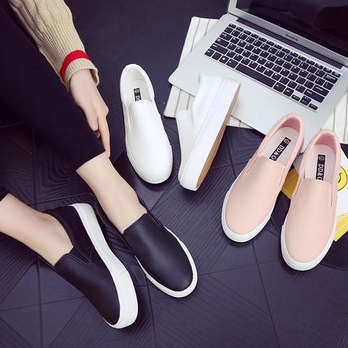 Giày da nữ đi chơi