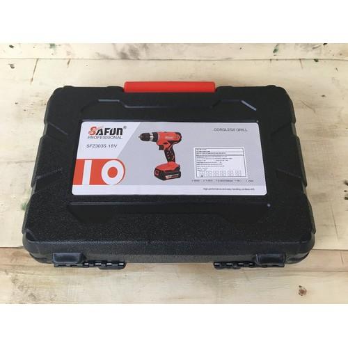 Máy Khoan vặn vít dùng Pin 18V SAFUN SF 303S - 7185063 , 17053063 , 15_17053063 , 1375000 , May-Khoan-van-vit-dung-Pin-18V-SAFUN-SF-303S-15_17053063 , sendo.vn , Máy Khoan vặn vít dùng Pin 18V SAFUN SF 303S