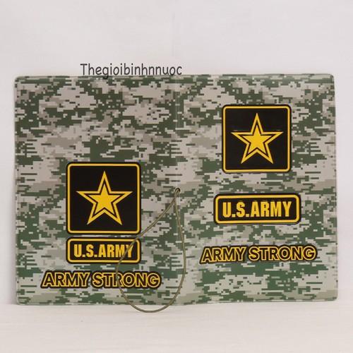 Vỏ Bọc Hộ Chiếu Passport Cover U.S Army V38