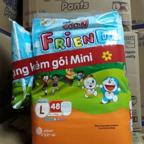 Tã Quần GOON FRIEND nhập khẩu Thái Lan ĐỦ SIZE S62-M58-L48-XL42-XXL34 - 7212805 , 17067151 , 15_17067151 , 227000 , Ta-Quan-GOON-FRIEND-nhap-khau-Thai-Lan-DU-SIZE-S62-M58-L48-XL42-XXL34-15_17067151 , sendo.vn , Tã Quần GOON FRIEND nhập khẩu Thái Lan ĐỦ SIZE S62-M58-L48-XL42-XXL34