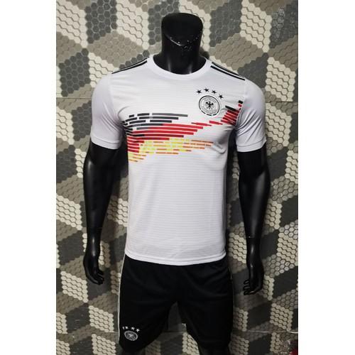 Bộ quần áo bóng đá Đức 2019 trắng sân nhà