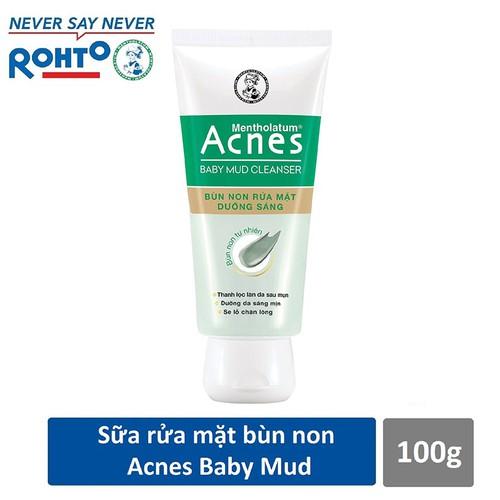 Bùn non rửa mặt dưỡng sáng Acnes Baby Mud 100g - 7209590 , 17065282 , 15_17065282 , 63000 , Bun-non-rua-mat-duong-sang-Acnes-Baby-Mud-100g-15_17065282 , sendo.vn , Bùn non rửa mặt dưỡng sáng Acnes Baby Mud 100g