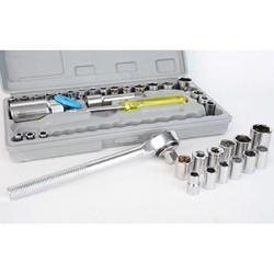 Bộ dụng cụ bộ đồ nghề 40 món hiệu aiwa sửa xe vặn ốc vít đa năng