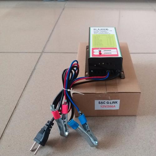 Sạc cho bình ắc quy ô tô xe máy có dung lượng từ 100ah đến 200ah