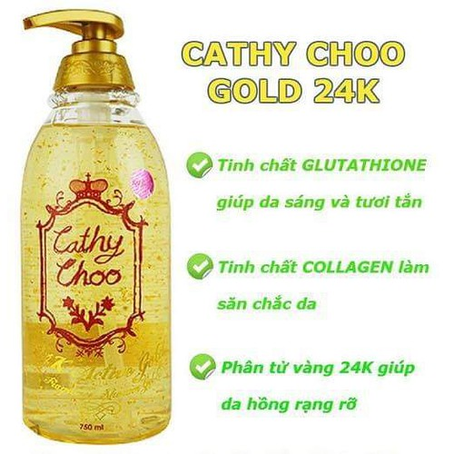 SỮA TẮM CATHY CHOO 24K ACTIVE GOLD FRAGRANCE SHOWER GEL - 7217089 , 17069778 , 15_17069778 , 160000 , SUA-TAM-CATHY-CHOO-24K-ACTIVE-GOLD-FRAGRANCE-SHOWER-GEL-15_17069778 , sendo.vn , SỮA TẮM CATHY CHOO 24K ACTIVE GOLD FRAGRANCE SHOWER GEL