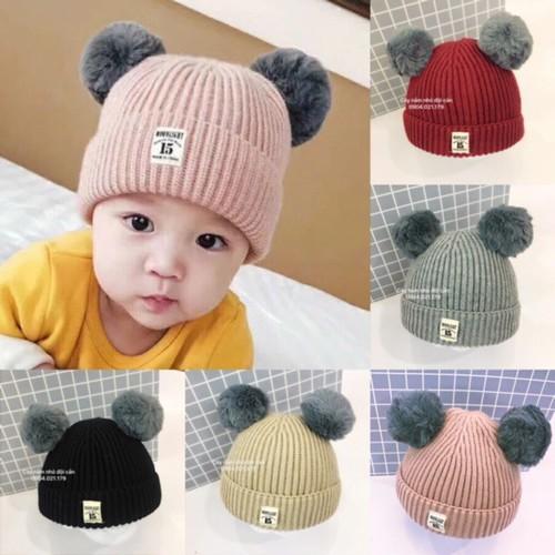 Mũ len tai gấu cho bé - 7196579 , 17058842 , 15_17058842 , 138000 , Mu-len-tai-gau-cho-be-15_17058842 , sendo.vn , Mũ len tai gấu cho bé