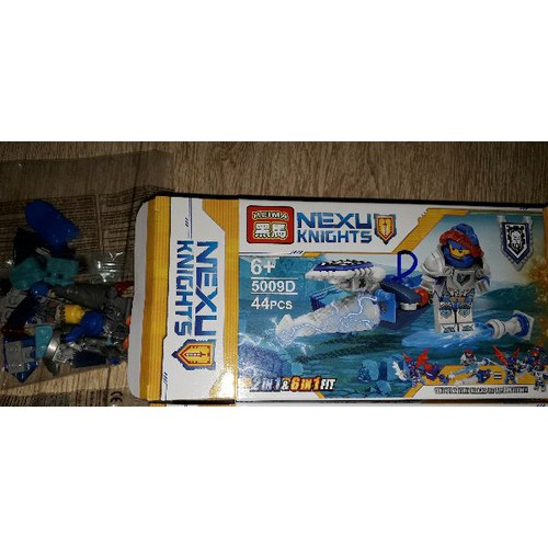 Lắp ráp 1 hộp NLego Nexu Knight 5009 mẫu D