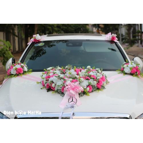 Bộ hoa giả trang trí xe cưới nhẹ nhàng Mẫu XHG-041 - 7200398 , 17060950 , 15_17060950 , 1650000 , Bo-hoa-gia-trang-tri-xe-cuoi-nhe-nhang-Mau-XHG-041-15_17060950 , sendo.vn , Bộ hoa giả trang trí xe cưới nhẹ nhàng Mẫu XHG-041