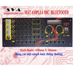 Mặt ampli 4 mic 7 volume có bluetooth hd9900