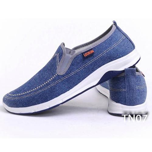 Giày Sneaker Nam Kiểu Dáng Ôm Chân FORM Chuẩn Catino TN07 Xanh Navy