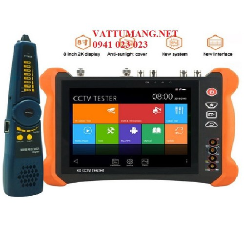 Máy Test camera cao cấp 8 inches IP 8.0MP-H265-4K và AHD-TVI-CVI-SDI 8.0MP. HDMI input và output. BH 12 tháng. - 11076535 , 16431138 , 15_16431138 , 12990000 , May-Test-camera-cao-cap-8-inches-IP-8.0MP-H265-4K-va-AHD-TVI-CVI-SDI-8.0MP.-HDMI-input-va-output.-BH-12-thang.-15_16431138 , sendo.vn , Máy Test camera cao cấp 8 inches IP 8.0MP-H265-4K và AHD-TVI-CVI-SD