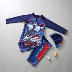 Bộ đồ bơi bé trai Captain America BBT9621