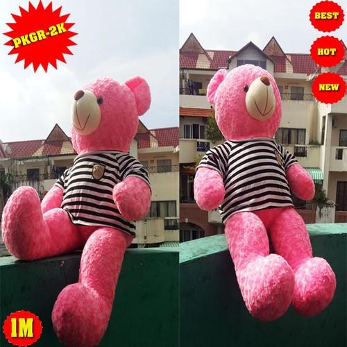 GẤU BÔNG THÚ BÔNG gấu bông gau bong teddy 80CM