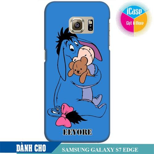 Ốp lưng nhựa dẻo dành cho Samsung Galaxy S7 Edge in hình Eeyore