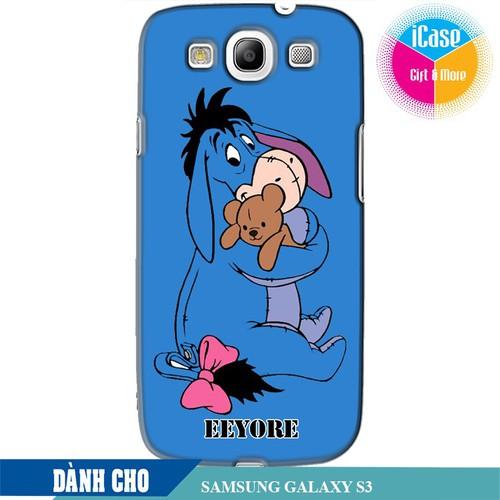 Ốp lưng nhựa dẻo dành cho Samsung Galaxy S3 in hình Eeyore