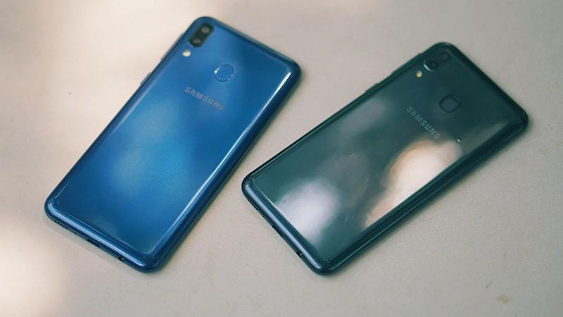 Antutu Benchmark điện thoại Samsung Galaxy M20 chính hãng