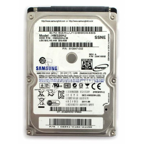Ổ cứng HDD 320GB Laptop