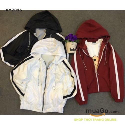 Áo khoác dù 2 lớp dây xích có nón mỏng nam nữ, áo khoác gió, áo khoác dù đẹp màutrắng đen đỏ - 6307108 , 16421547 , 15_16421547 , 135000 , Ao-khoac-du-2-lop-day-xich-co-non-mong-nam-nu-ao-khoac-gio-ao-khoac-du-dep-mautrang-den-do-15_16421547 , sendo.vn , Áo khoác dù 2 lớp dây xích có nón mỏng nam nữ, áo khoác gió, áo khoác dù đẹp màutrắng đen