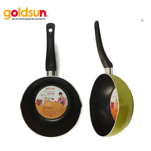 Chảo chống dính sâu lòng 20cm Goldsun FP-GE1520 G - 6315455 , 16428059 , 15_16428059 , 199000 , Chao-chong-dinh-sau-long-20cm-Goldsun-FP-GE1520-G-15_16428059 , sendo.vn , Chảo chống dính sâu lòng 20cm Goldsun FP-GE1520 G