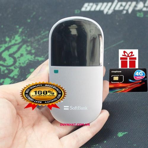 Cục Phát Wifi EMOBILE D25HW - Tốc Độ Cao, Pin Trâu