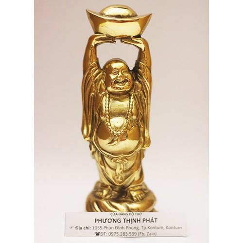 Tượng Phật Di Lặc Bằng Đồng Vàng Cao 18cm - 6308789 , 16423161 , 15_16423161 , 850000 , Tuong-Phat-Di-Lac-Bang-Dong-Vang-Cao-18cm-15_16423161 , sendo.vn , Tượng Phật Di Lặc Bằng Đồng Vàng Cao 18cm