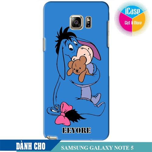 Ốp lưng nhựa dẻo dành cho Samsung Galaxy Note 5 in hình Eeyore