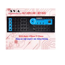 Mặt ampli 4 mic có đèn nháy PA2400