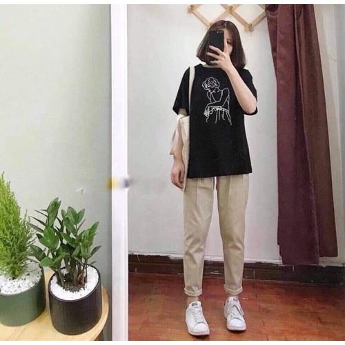 quần kaki basic