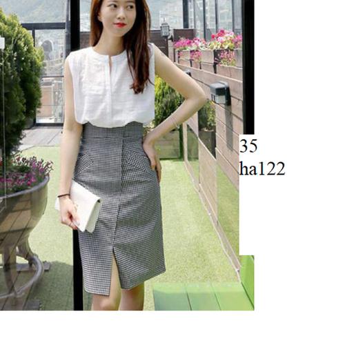 HA122- Chân váy công sở