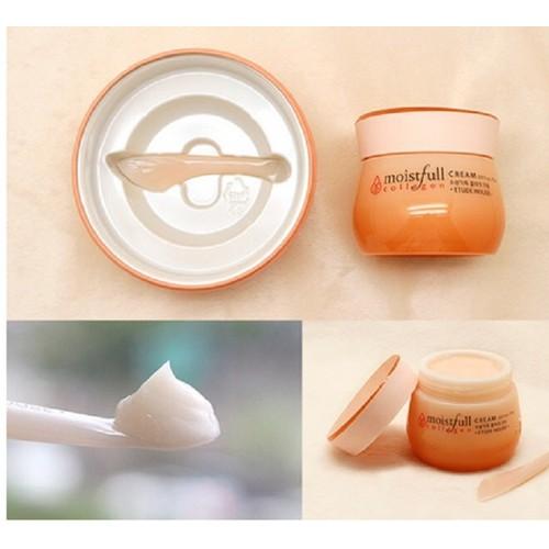 Kem Dưỡng Etude House Moistfull Collagen Cream – cho làn da săn chắc không lão hoá 75ml