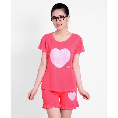 Bộ đồ mặc nhà pink họa tiết trái tim - 19049924 , 17092948 , 15_17092948 , 89000 , Bo-do-mac-nha-pink-hoa-tiet-trai-tim-15_17092948 , sendo.vn , Bộ đồ mặc nhà pink họa tiết trái tim