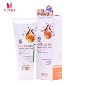 Sữa rửa mặt Dabo Collagen - Sữa rửa mặt Dabo 3 in 1