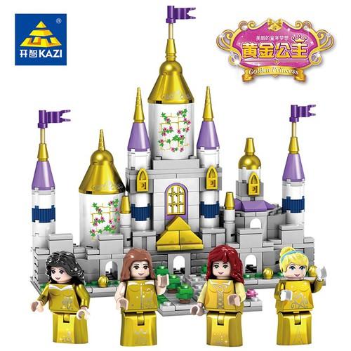Combo 4 Hộp lắp ráp Lâu Đài các nàng Công Chúa cổ tích
