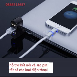 Bộ Hub chia cổng USB thời trang mini