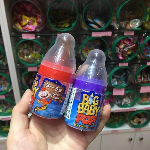 Kẹo Big baby pop! vị nho