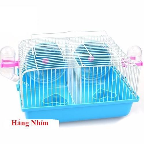 Lồng Hamster - lồng Nuôi Chuột - Lồng Ngăn đôi