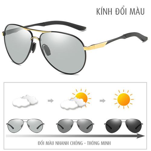 Kính đổi màu gọng nhôm magiê nhẹ, mắt kính polarized phân cực, chống UV - MK1906 - 4796656 , 17091955 , 15_17091955 , 320000 , Kinh-doi-mau-gong-nhom-magie-nhe-mat-kinh-polarized-phan-cuc-chong-UV-MK1906-15_17091955 , sendo.vn , Kính đổi màu gọng nhôm magiê nhẹ, mắt kính polarized phân cực, chống UV - MK1906