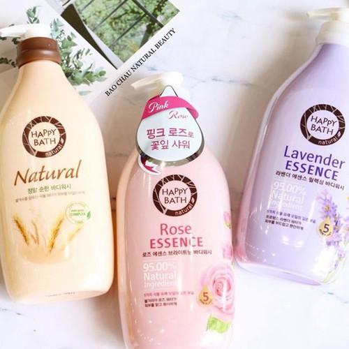 Sữa Tắm Happy Bath Natural Body Wash Hàn Quốc - 7259330 , 17092217 , 15_17092217 , 150000 , Sua-Tam-Happy-Bath-Natural-Body-Wash-Han-Quoc-15_17092217 , sendo.vn , Sữa Tắm Happy Bath Natural Body Wash Hàn Quốc