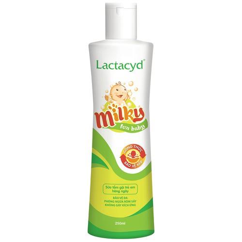 Sữa tắm gội chứa sữa lactacyd milky 250ml - tặng chai nhỏ - 19049253 , 17079052 , 15_17079052 , 85000 , Sua-tam-goi-chua-sua-lactacyd-milky-250ml-tang-chai-nho-15_17079052 , sendo.vn , Sữa tắm gội chứa sữa lactacyd milky 250ml - tặng chai nhỏ