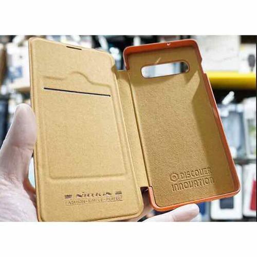 Bao da Nillkin QIN cho Samsung Galaxy S10 Plus có ngăn để thẻ