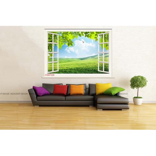 Tranh cửa sổ - Tranh cửa sổ 3D