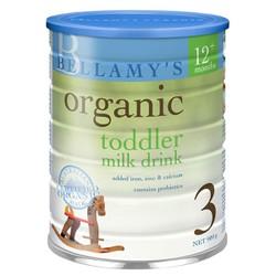 Sữa Bột Bellamy 's Organic Số 3 900g
