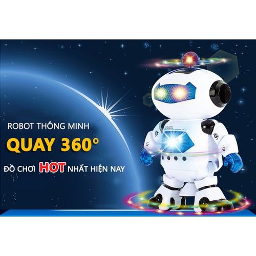 Robot thông minh xoay 360 độ cảm biến né vật cản không sợ ngã có nhạc vui nhộn cho bé chơi tại nhà - 7253596 , 17089027 , 15_17089027 , 159000 , Robot-thong-minh-xoay-360-do-cam-bien-ne-vat-can-khong-so-nga-co-nhac-vui-nhon-cho-be-choi-tai-nha-15_17089027 , sendo.vn , Robot thông minh xoay 360 độ cảm biến né vật cản không sợ ngã có nhạc vui nhộn cho